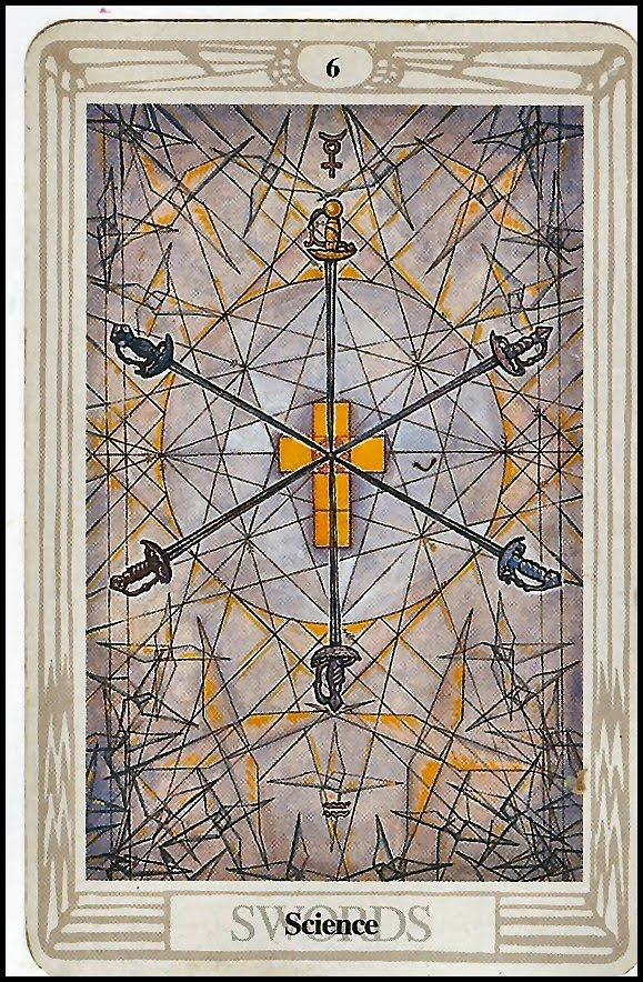 Six of Swords Thoth Tarot Card Tutorial - Esoteric Meanings