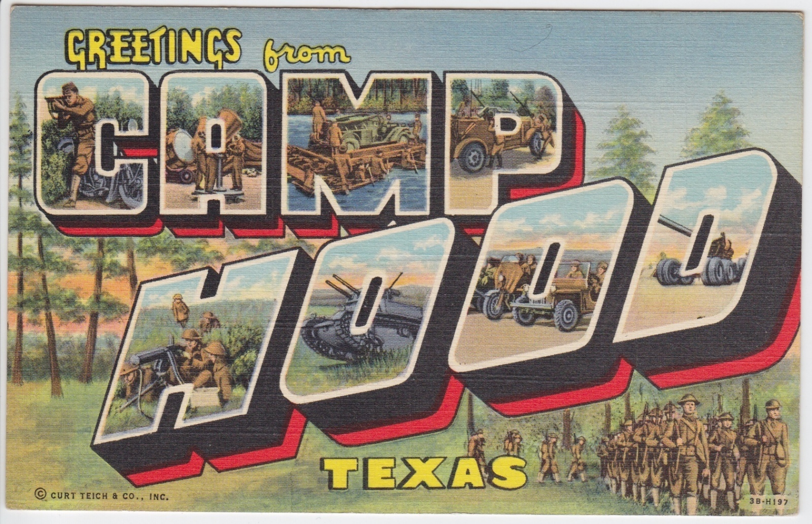 Fort Hood, TX, Postcard on eBay | eWillys