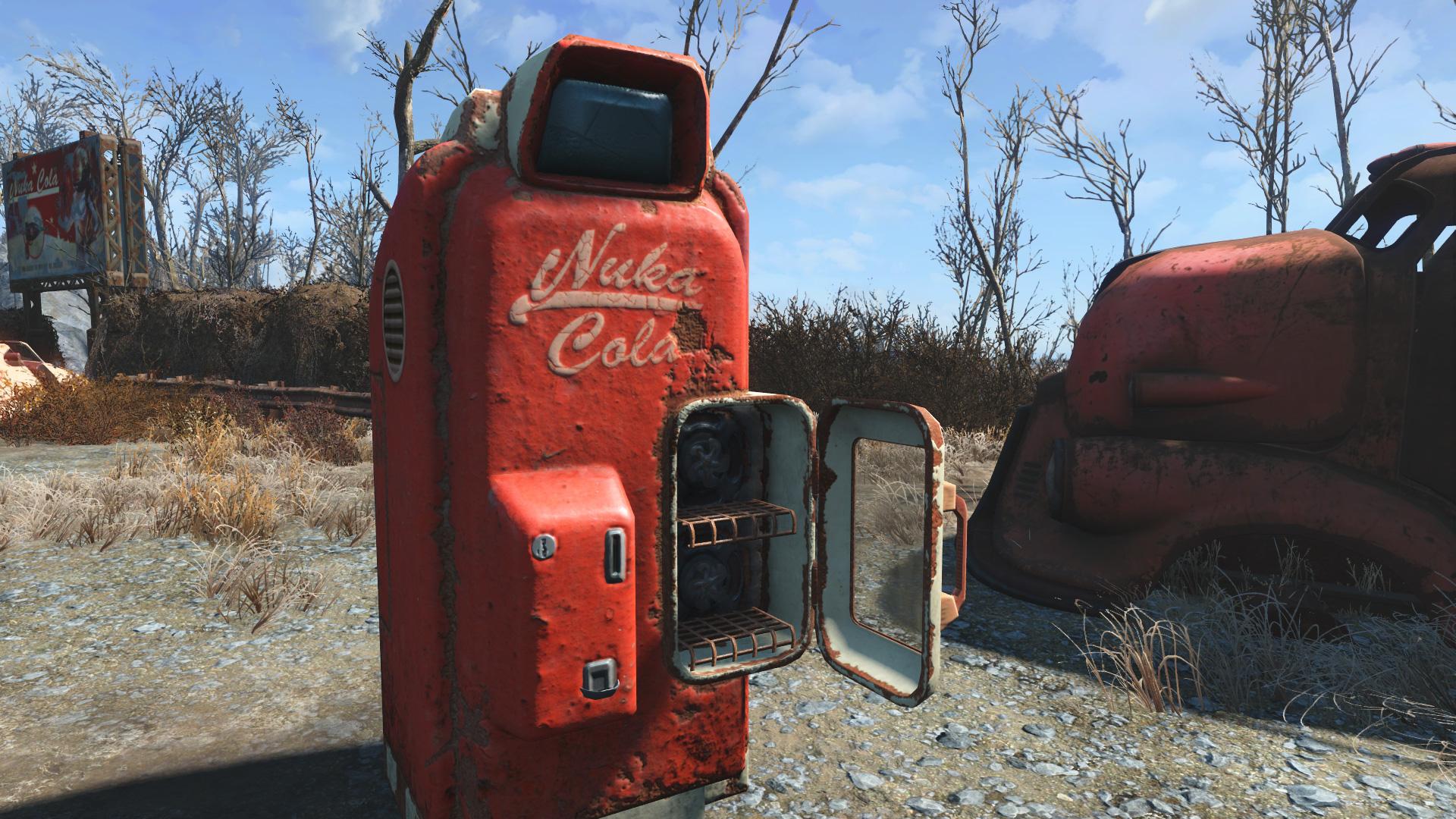 OJO BUENO NUKA-COLA MACHINE - Fallout 4 / FO4 mods