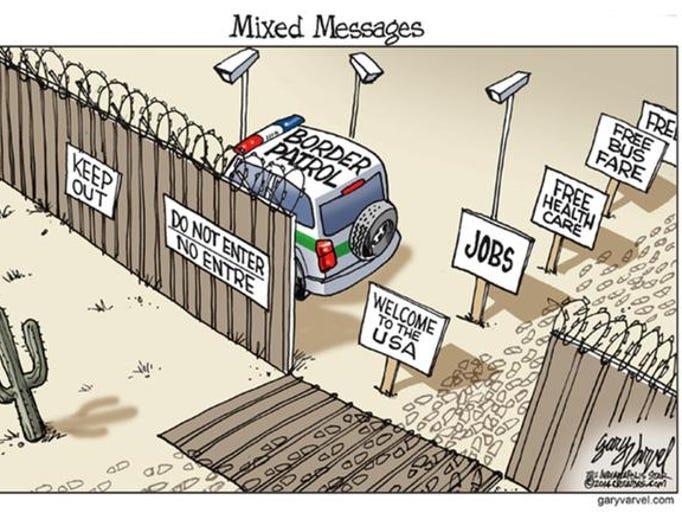 Editorial cartoons: Immigration