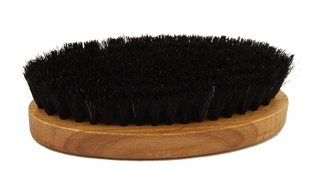 Saphir Oval shoe brush - black
