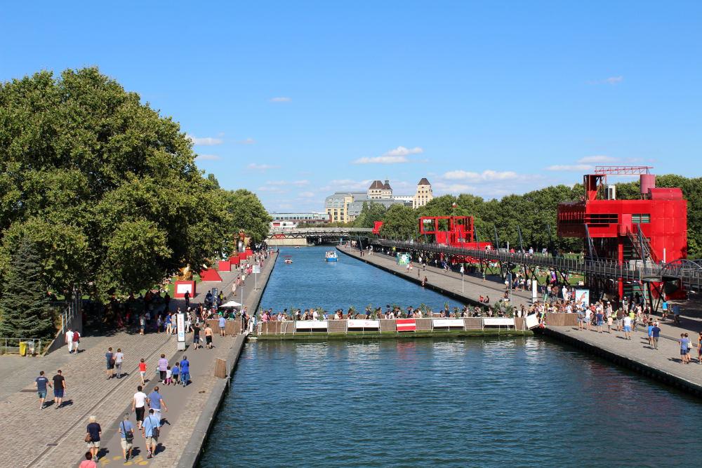 Le canal de l'Ourcq - Histoires de Paris