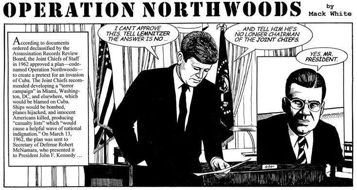 The Impious Digest – Operation Northwoods and the Plot to Blame the JFK Assassination on Castro