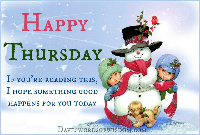 Happy Thursday Positive Winter Quote Pictures, Photos, and ...