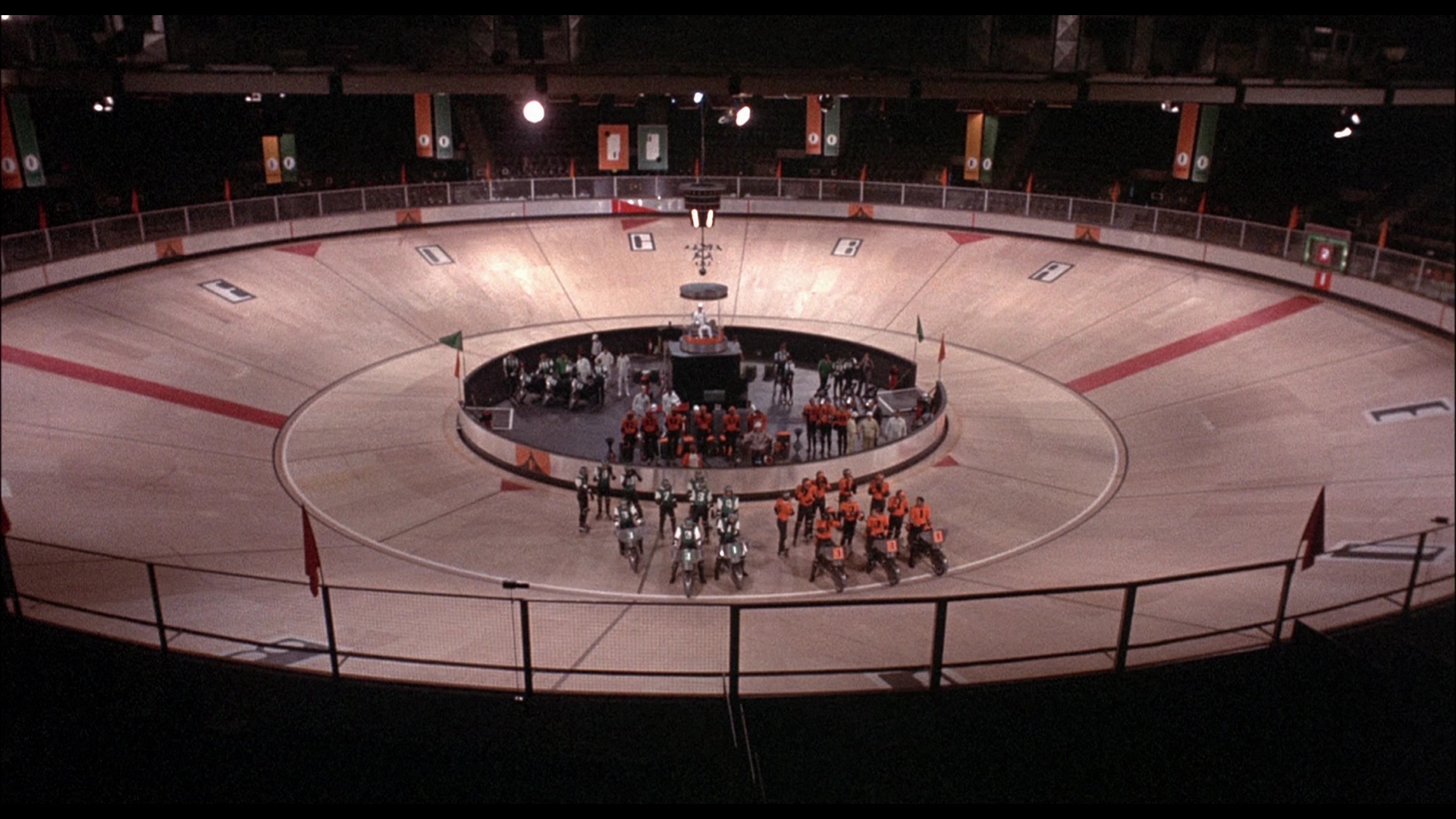 Rollerball (1975) - Blu-ray DVD review at Mondo Esoterica