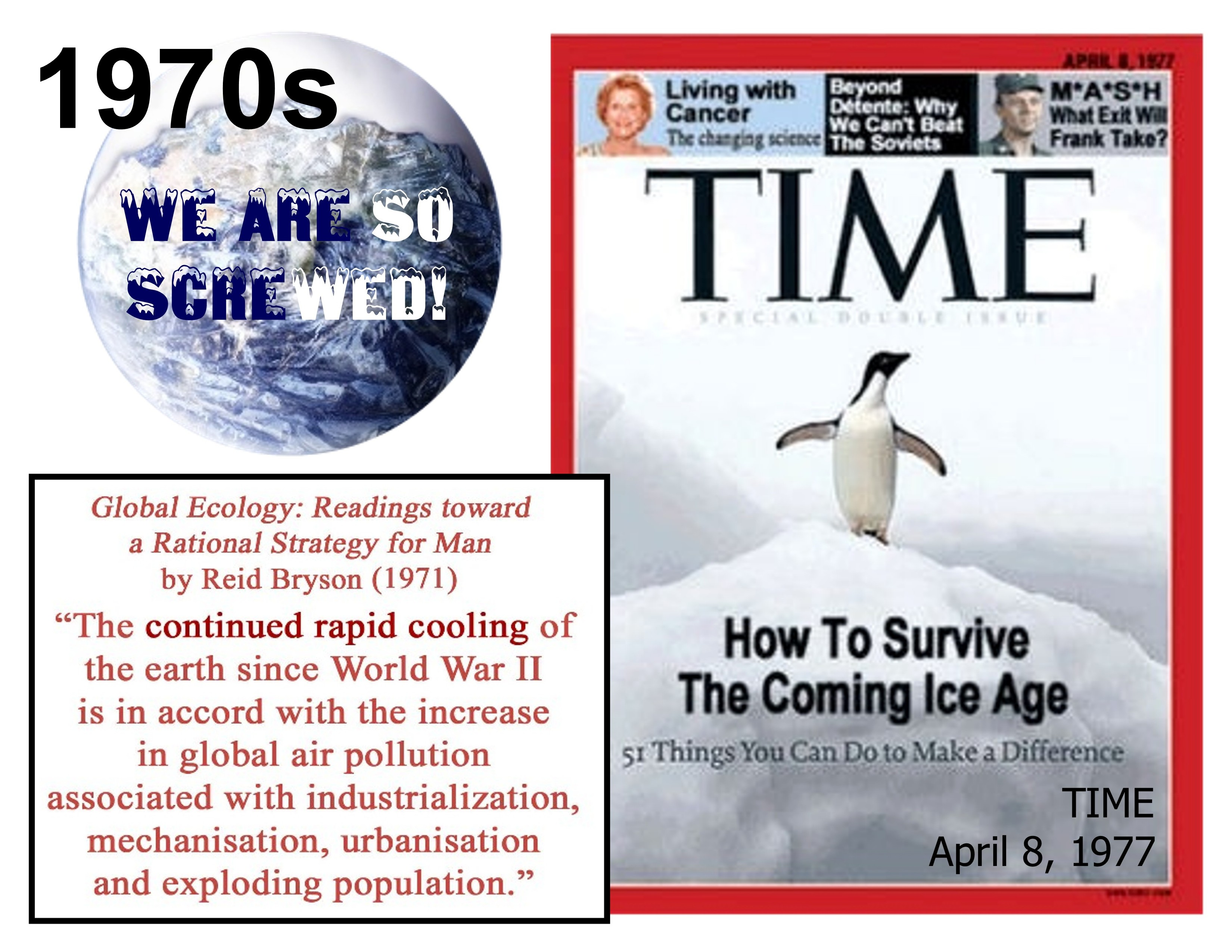 GLOBAL COOLING is coming, and we're all DOOMED, warned NYT ...