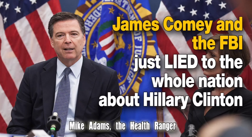 James Comey and the FBI just LIED to the whole nation ...