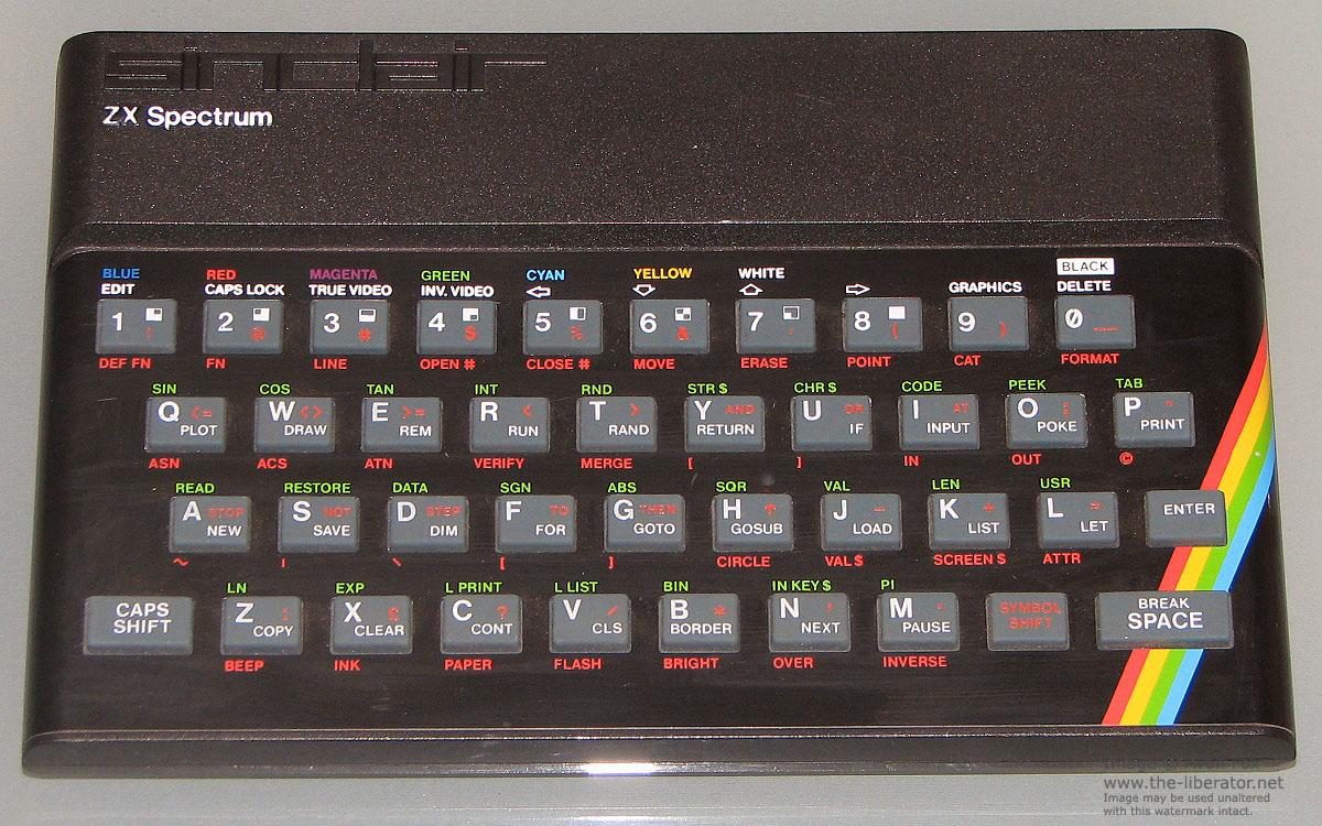 Sinclair ZX Spectrum Issue 2 Computer