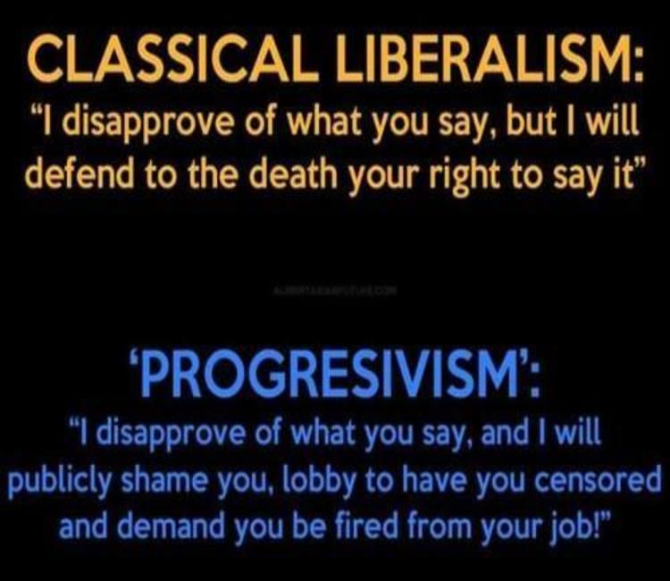 Difference Between Classic Liberalism & Progressivism Defined