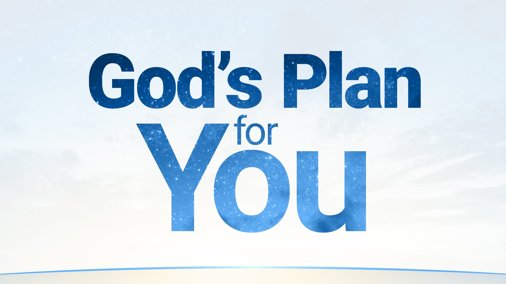 God's Plan for You | United Church of God