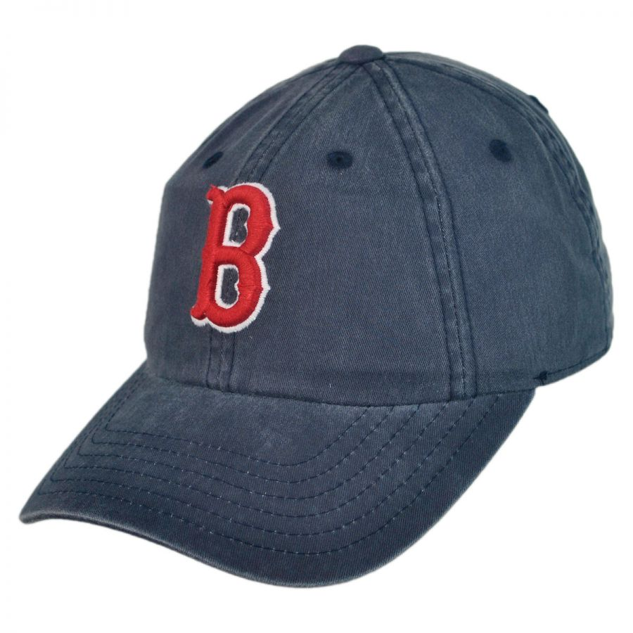 American Needle Boston Red Sox MLB Raglan Strapback Baseball Cap MLB Baseball Caps