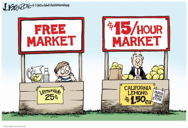 Free market and subsidies