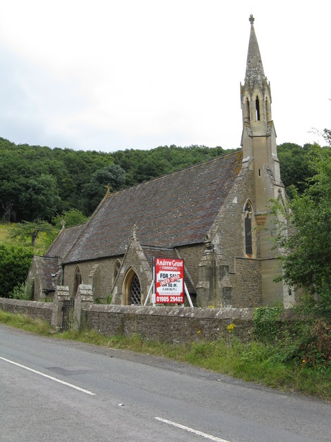 Knightwick - church for sale © Peter Whatley :: Geograph Britain and Ireland