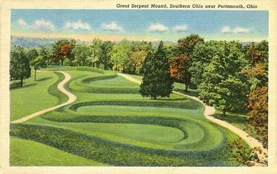 The Great Serpent Mound of Ohio