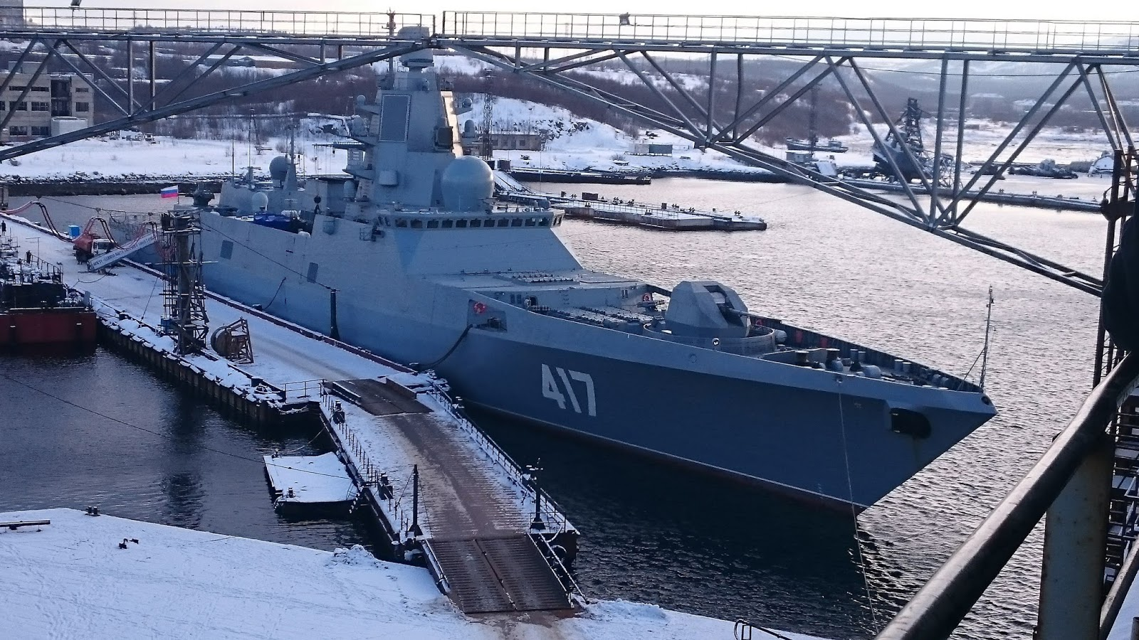 """Military and Commercial Technology: """"Admiral Gorshkov"""" project 22350 undergoing a final testing ..."""