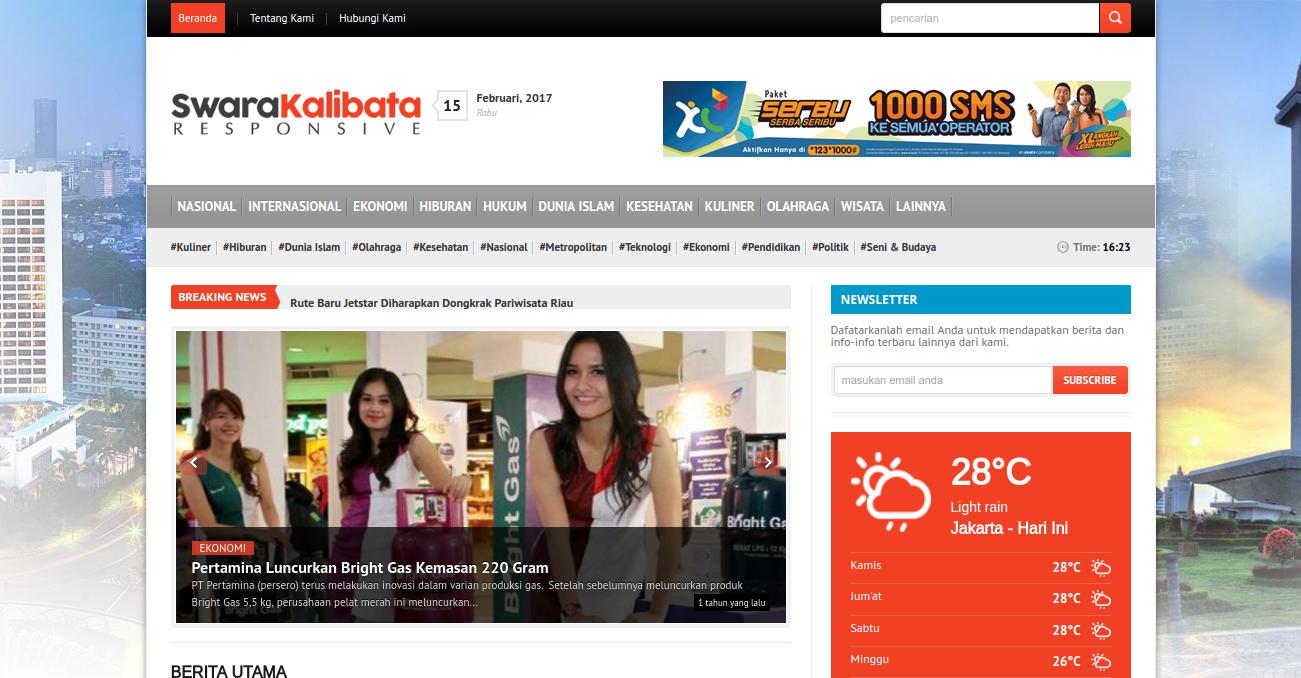 Website Berita Luar Negeri
