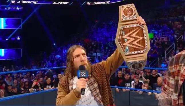 WWE News: Details On Daniel Bryan's New Hemp WWE Title ...