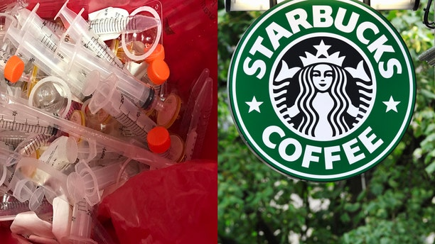 Starbucks to install safe needle disposal boxes after ...