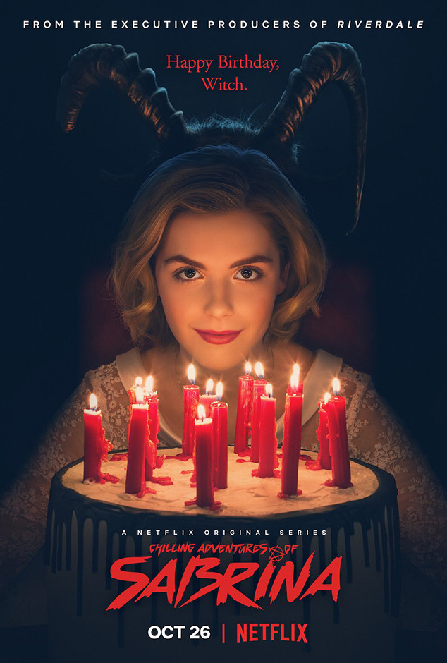 Chilling Adventures of Sabrina's Spooky and Cute Poster ...