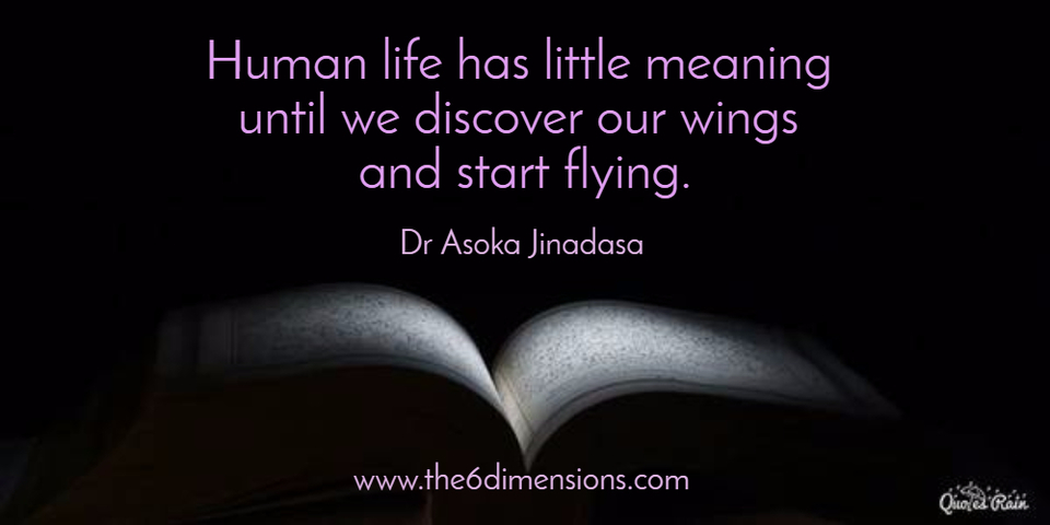 Human life has little meaning until we... Picture Quotes ...