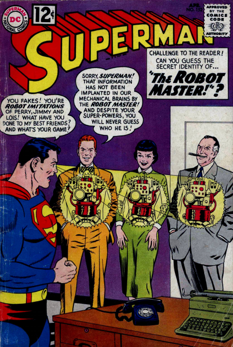 Superman 152 – the Robot Master | Babblings about DC Comics 3