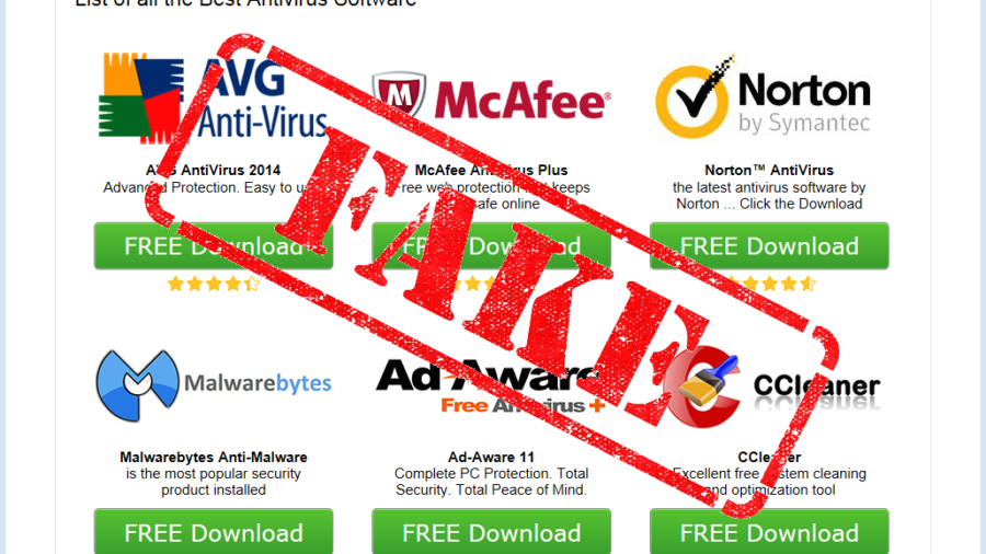 Tech Support scammers rip big brand security software with ...