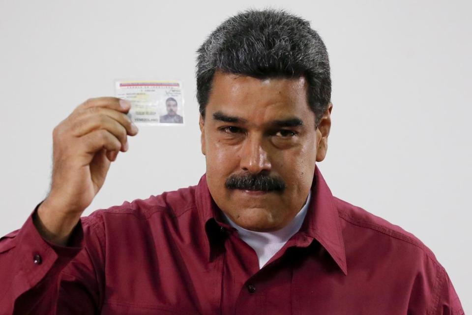 Venezuela's Nicolas Maduro wins reelection, officials say ...