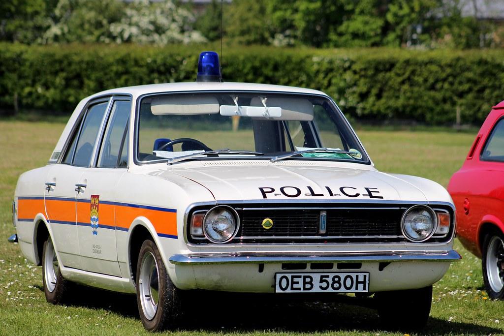 1970 Ford Lotus Cortina Mk2 Police Car - explored | IWM ...