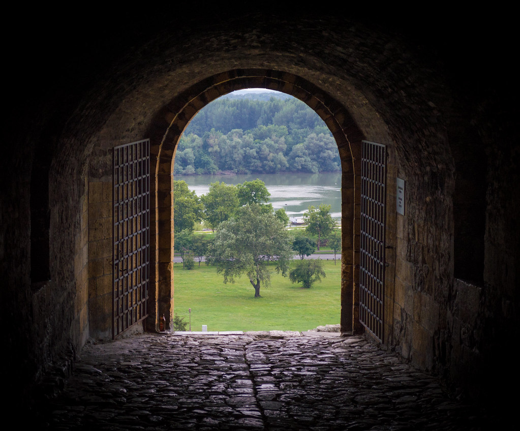 Door to another world! - Kalemegdan Park | Pedja ...
