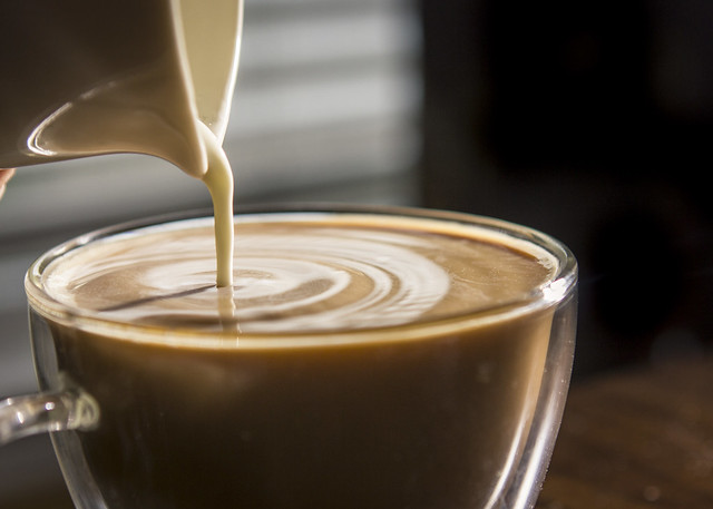 Pouring Cream into Coffee | Flickr - Photo Sharing!