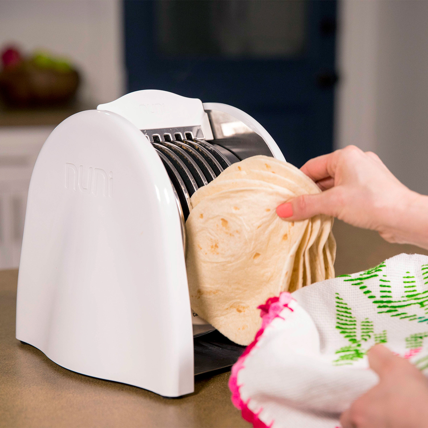 NUNI Tortilla Toaster: 6 Tacos In Less Than One Minute