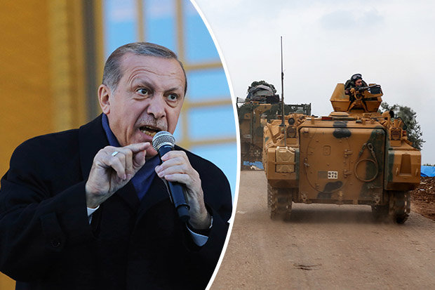 Turkey invasion Syria: President Erdogan issues shock ...
