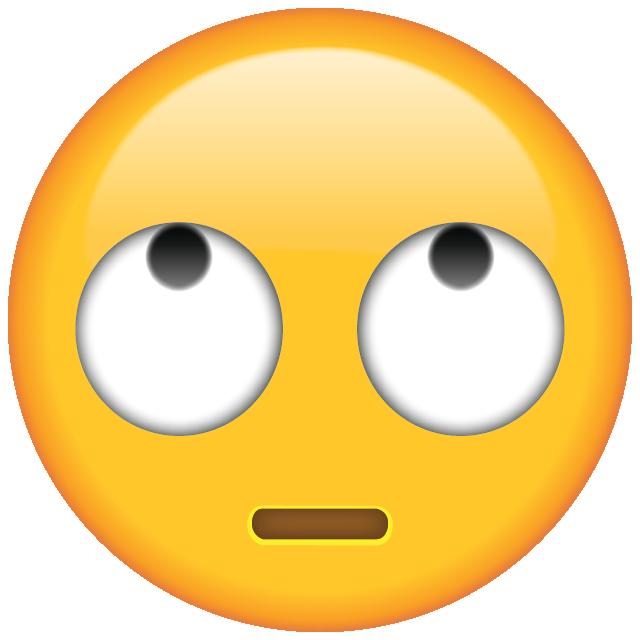 Rolling Eyes Emoji - Free PNG Download | Emoji Island