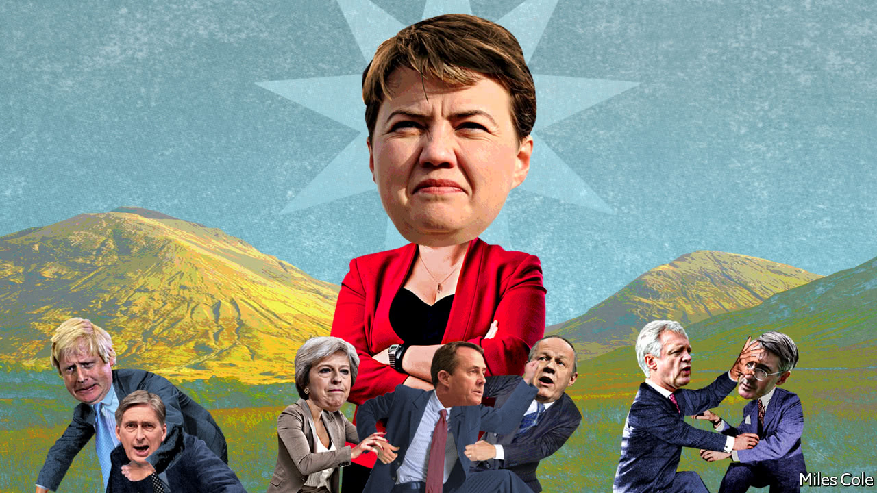 Ruth Davidson, the Conservatives' northern star - Bagehot