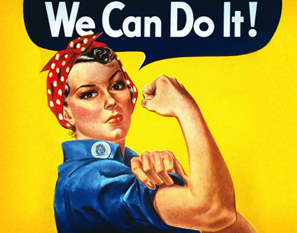 We All Want to Be Rosie the Riveter - The Atlantic