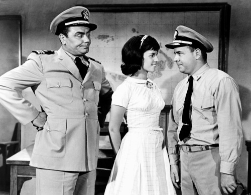 Mchale'S Navy From Left Ernest Borgnine Claudine Longet ...