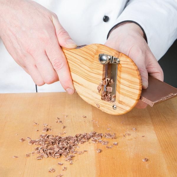 Bron Coucke 1030RT Wooden Chocolate Shaver/ Truffle Slicer ...