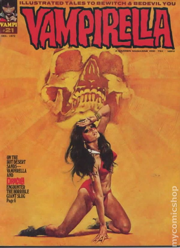 Vampirella (1969 Magazine) comic books