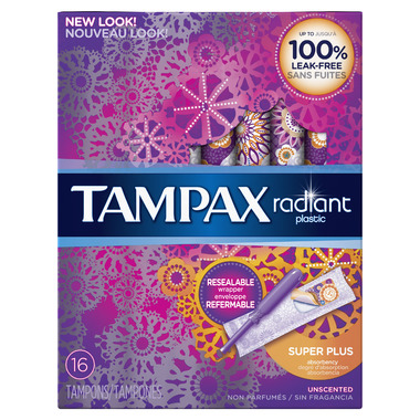 Buy Tampax Radiant Tampons Super Plus at Well.ca | Free ...