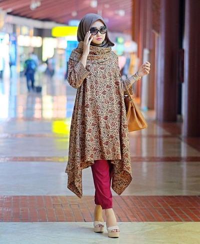 Ini Dia Padu Padan Hijab dengan Batik yang Lagi Hits di Tahun Ini | Muslim | beautynesia