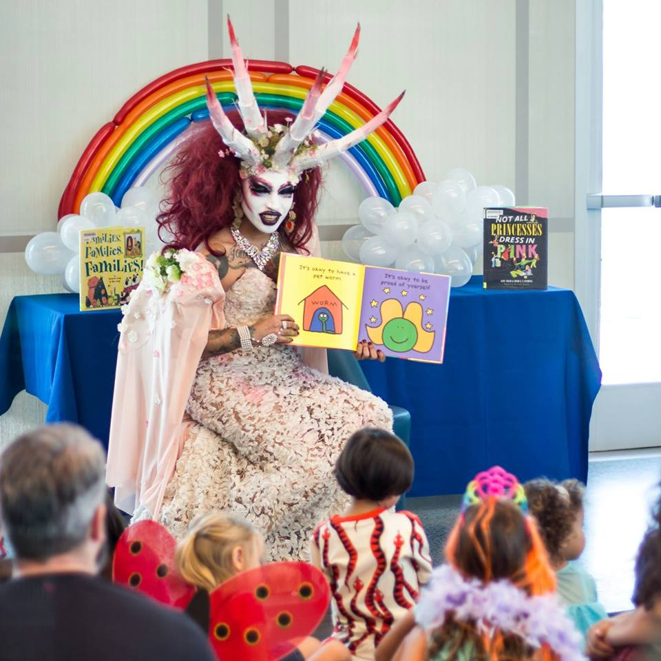 Michelle Obama Neighborhood Library Has Drag Queen Story ...