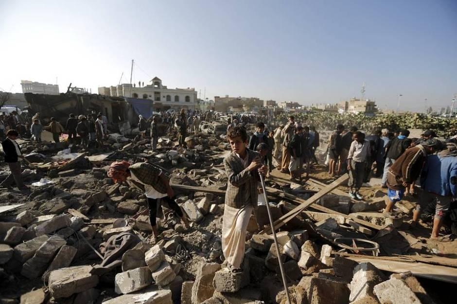 Yemen: A War, a Humanitarian Disaster and an International ...