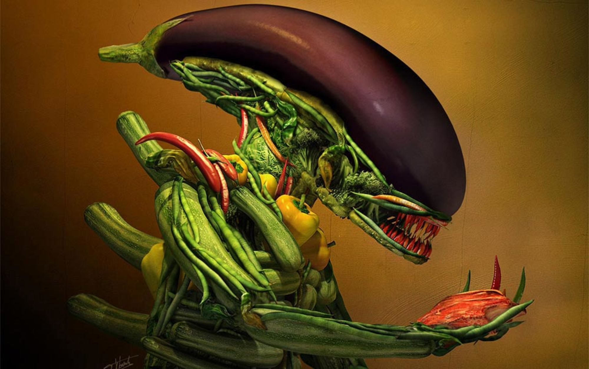 If aliens treated us like vegans treat animals, we'd be ...