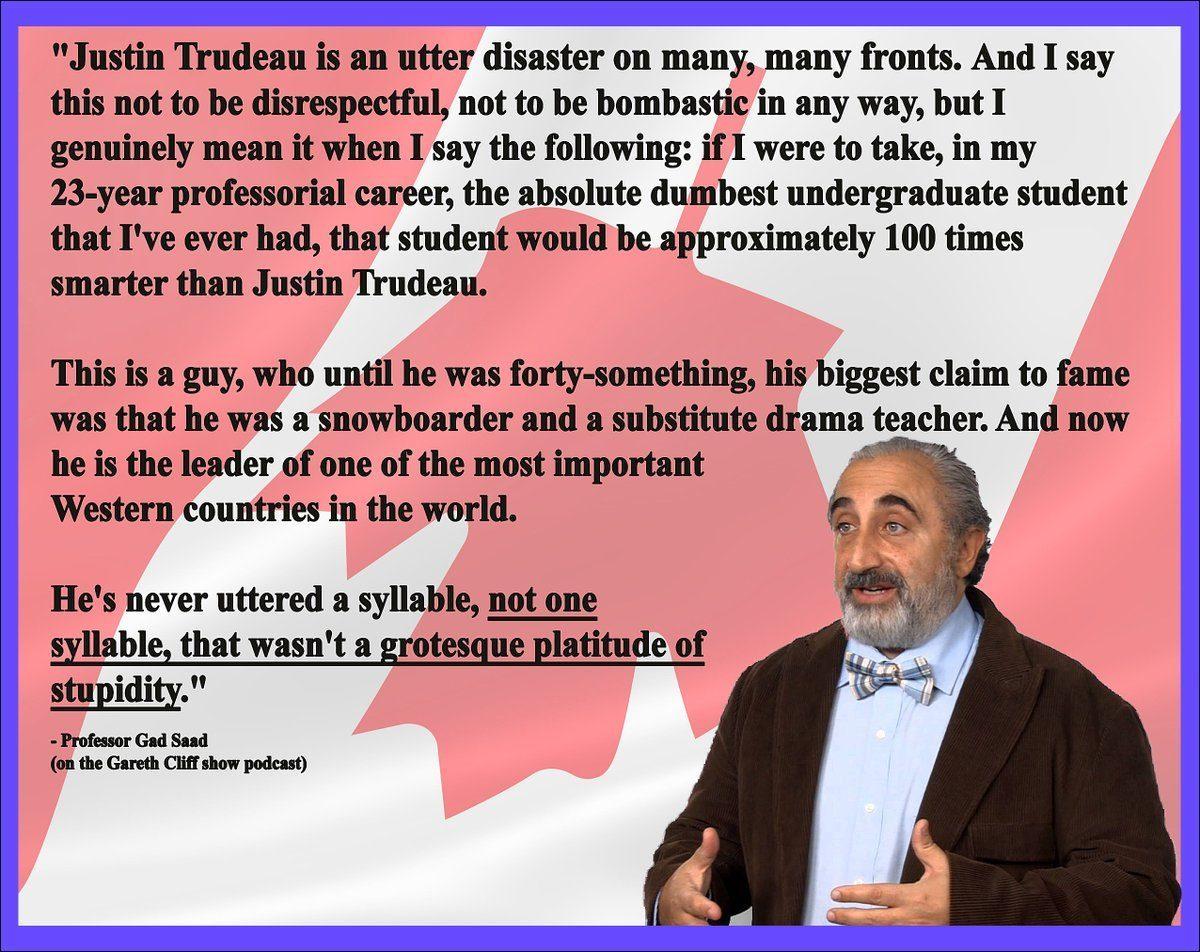 La guapa hipocresía de Justin Trudeau: Líder de Guerreros ...