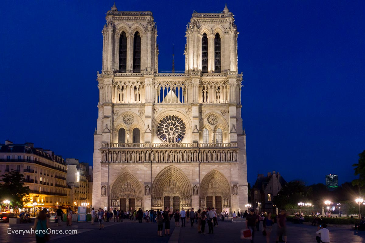 A Night Show at Notre Dame | Everywhere Once