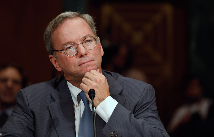 Dems Pay Millions to Firm Backed by Google's Eric Schmidt