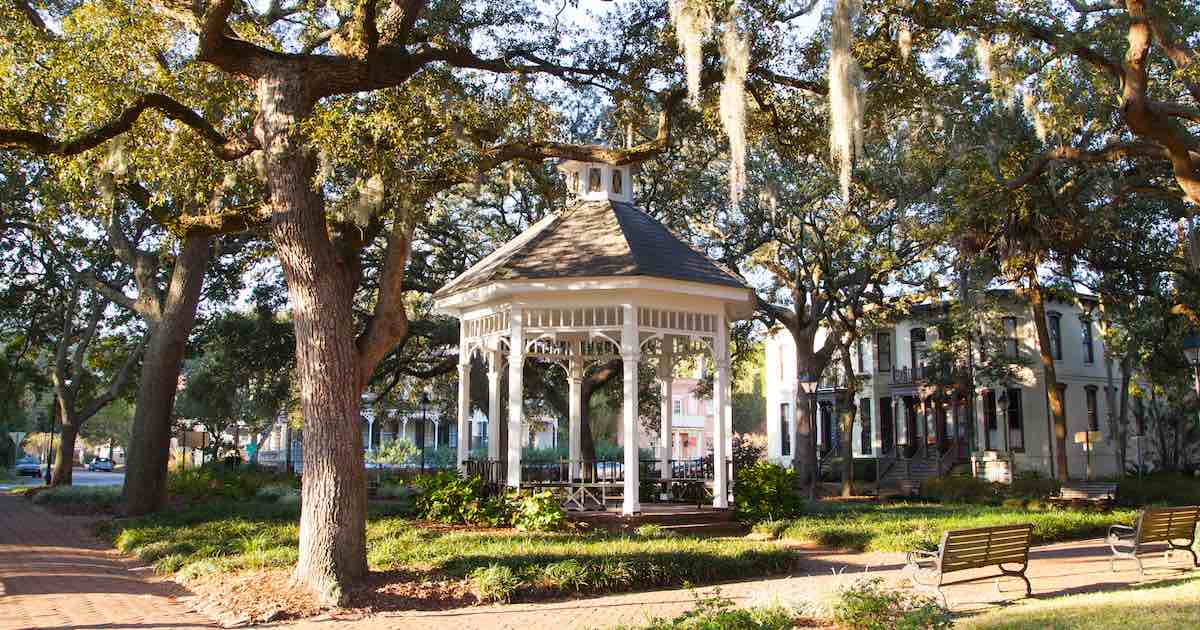 Whitefield Square, Savannah, GA