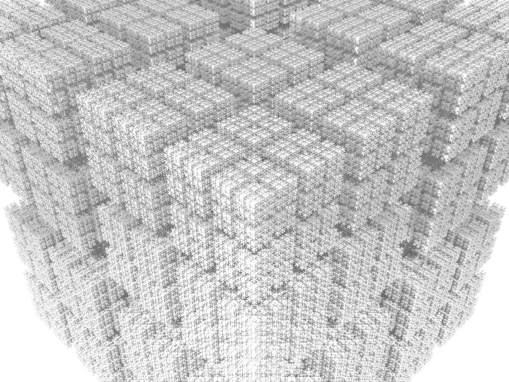 T-Square Fractal Cubes | Greg Klein's Blog