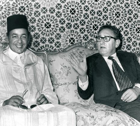 Hassan II et Kissinger | Maroc Infos