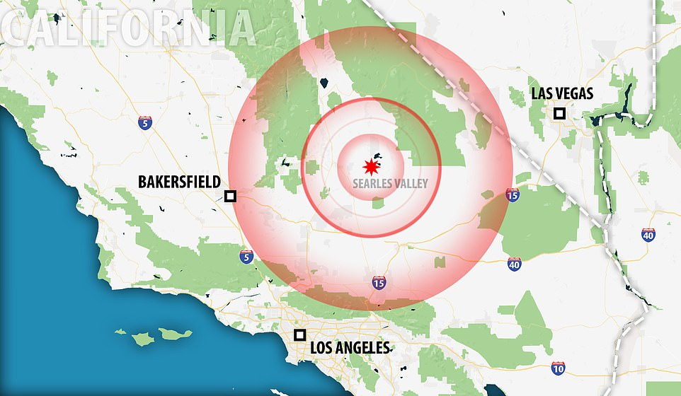 California 'could face even BIGGER quake within days ...